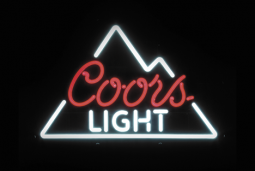 Coors Light LED sign