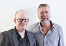 Mark Bonner (L), Tim Lindsay (R)