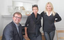(L to R) Markus Weichselbaumer, Maria Tamander, Anna Crona
