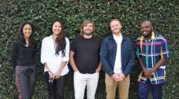 Trina Sethi, Sarah Yu, Hoyt Dwyer, Peter Williams & Sta'sean Ridley
