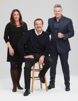 Linda Sawyer, Michael Sheldon and Donny Deutsch