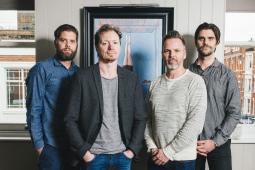 L-R Mattias Ronge, Anders Hallen, Toby Gunton, Stefan Ronge