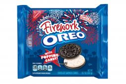 Oreo Firework, the latest limited-edition flavor, comes as Oreo parent Mondelez faces weakness in cookie sales.