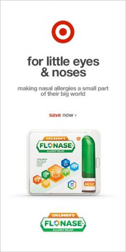 An ad for Flonase
