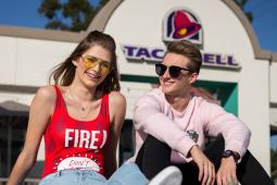 Brittany Creech and McBurnie luv Taco Bell and Forever 21.