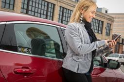 GM's 'Maven' Car-Sharing Brand