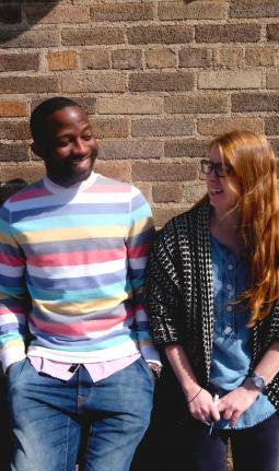 Marques Gartrell and Heather English
