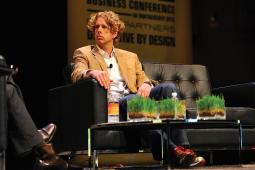 Keller at the Wired Business Conference Disruptive by Design during his CP&B days.