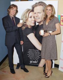 William H. Macy and Felicity Huffman Got Milk ad