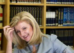 Arianna Huffington, president and editor-in-chief of the Huffington Post, announced she was leaving the organization.