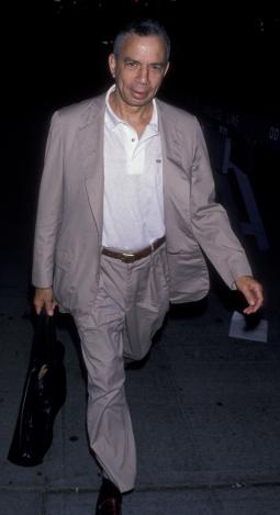 S.I. Newhouse sighted on August 21, 1989 at Conde Nast in New York City.