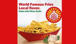 McDonald's Gilroy Garlic Fries Test