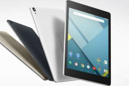 The Nexus 9 tablet