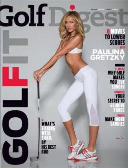 Paulina Gretzky's appearance on the May cover of Golf Digest drew criticism.