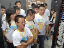 USVOs take a tour of HP's Beijing headquarters