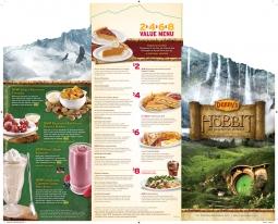 Denny's 'Hobbit' menu