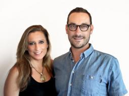 Missy Galanida and Isaac Rice