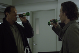 A scene from season 2 of 'House of Cards' starring Anheuser-Busch InBev's Stella Artois.