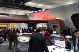Huawei's CES booth
