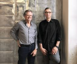 Peter Corbett and Steve Kalalian