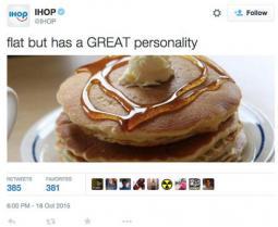 IHOP's offensive tweet