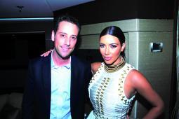 Jon Steinberg and Kim Kardashian at last year's Cannes Lions.
