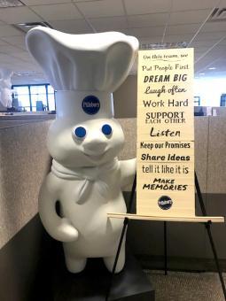 Pillsbury Doughboy and Team Rules