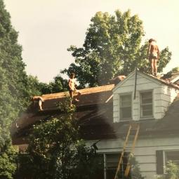 DeLand roofing at age 16.