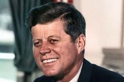 President Kennedy in 1963