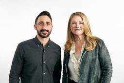 Jed Grossman and Danielle Flagg