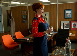 Joan Harris (Christina Hendricks) on 'Mad Men'