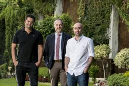 (L to R) Ricardo John, Stefano Zunino, Rodrigo Grau