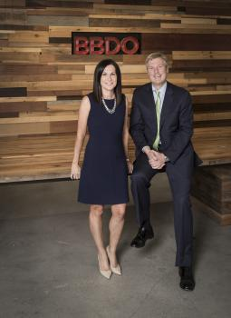 Kirsten Flanik and John Osborn