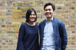 Katrina Encanto and EJ Galang