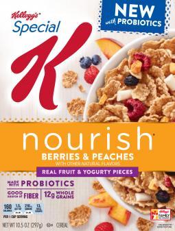 Special K Nourish Berries & Peaches with Probiotics