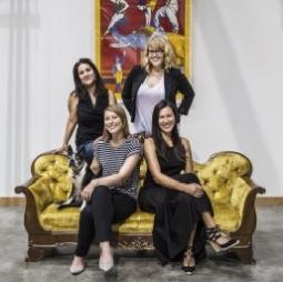 Kelly McCormick, Stephanie Kohnen, Mona Hasan and Quinn Katherman