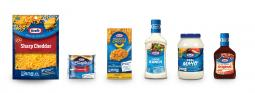 Kraft Heinz is introducing new packaging for Kraft-branded items, giving them a more cohesive look.