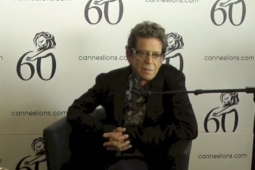Lou Reed at Cannes earlier this year.