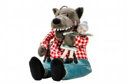 Ikea's stuffed toy wolf once had a name that sounded naughty in Cantonese.