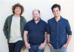 From left, Anthony Marinelli, Josh Reynolds and Beau Bonetti of Music Forever