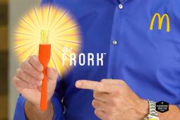 McDonald's introduces the 'frork.'