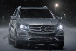Mercedes-Benz's 'Snow Date' ad