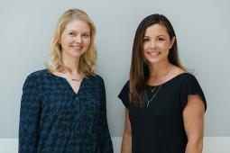 Ananda Reavis and Cara Lehr