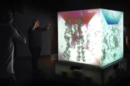 Microsoft 'Cube' creates an interactive dancing experience for users.