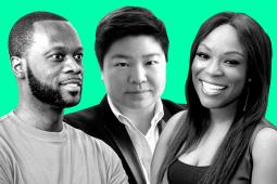 Blacture and Fugees co-founder Pras Michél, Reddit COO Jen Wong and GE Ventures CMO Dara Treseder