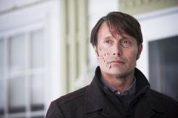 Mads Mikkelsen as Hannibal Lecter in 'Hannibal,' one of the most-pirated shows on TV.