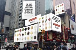 Chipotle's new ad campaign includes out-of-home ads.