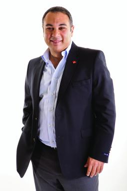 Ahmed Nazmy, marketing chief for Coke in Egypt