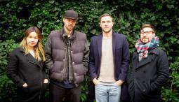 (L to R) Rachel Kennedy, David Kauder, Lucas Schneider, Francesco Grandi