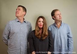 David Wittman, Kala Sherman and Raymond Loewy